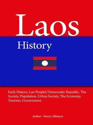 cover image of Laos History