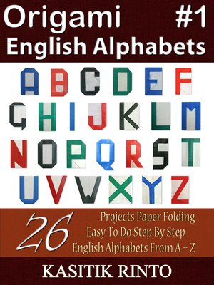 cover image of Origami English Alphabets
