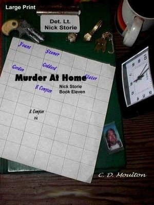 cover image of Nick Storie; Murder At Home