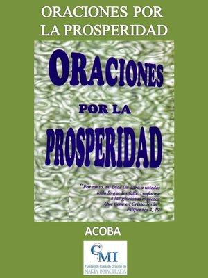 cover image of Oraciones por la prosperidad
