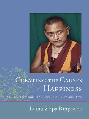 cover image of Creating the Causes of Happiness
