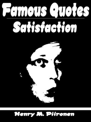 cover image of Famous Quotes on Satisfaction