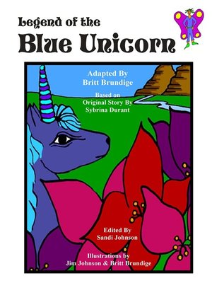 cover image of Legend of the Blue Unicorn
