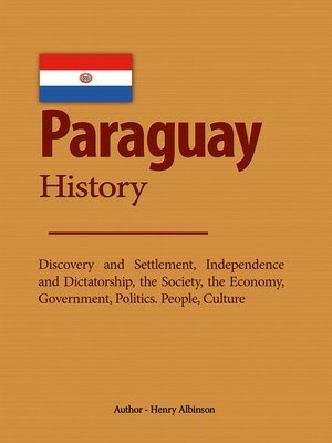 cover image of Paraguay History