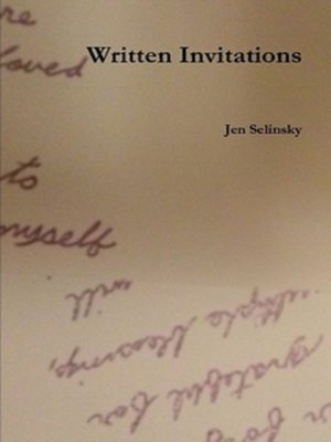 cover image of Written Invitations