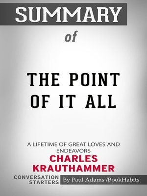 cover image of Summary of the Point of It All