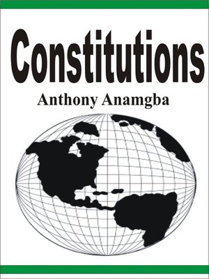 cover image of Constitutions