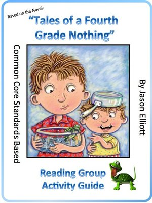 cover image of Tales of a Fourth Grade Nothing Reading Group Activity Guide