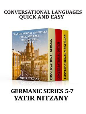 cover image of Conversational Languages Quick and Easy Boxset 5-7