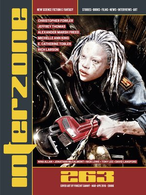 cover image of Interzone #263 (Mar-Apr 2016)