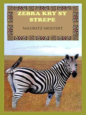 cover image of Zebra Kry Sy Strepe