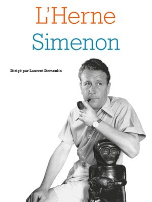 cover image of Cahier Simenon