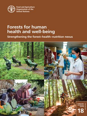cover image of Forests for Human Health and Well-Being