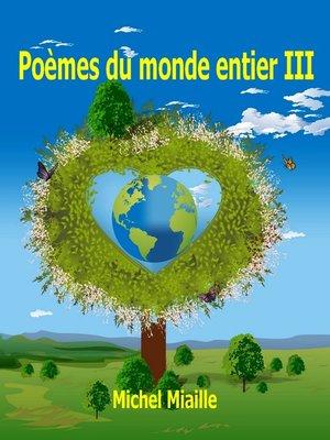 cover image of Poèmes du monde entier III