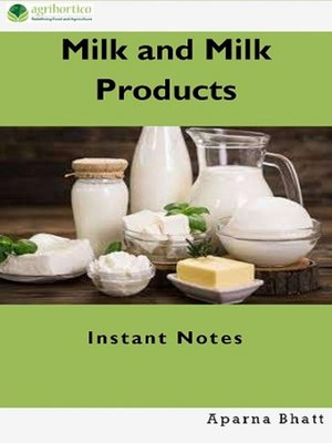 cover image of Milk and Milk Products