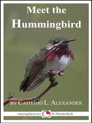 cover image of Meet the Hummingbird