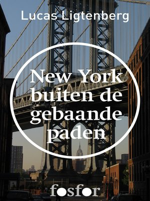 cover image of New York buiten de gebaande paden