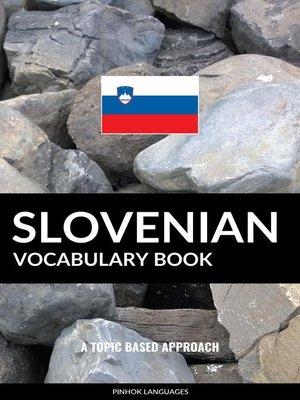 cover image of Slovenian Vocabulary Book