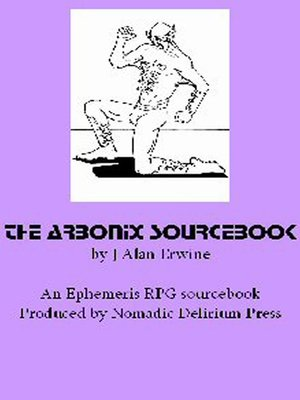 cover image of The Arbonix Sourcebook