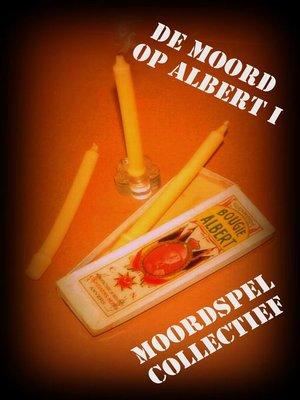 cover image of De Moord op Albert I