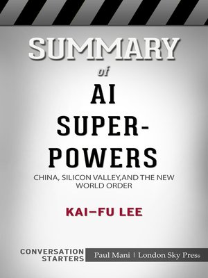cover image of Summary of AI Superpowers