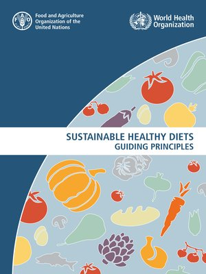 cover image of Sustainable Healthy Diets