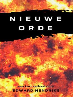 cover image of Nieuwe orde