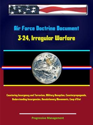 cover image of Air Force Doctrine Document 3-24, Irregular Warfare