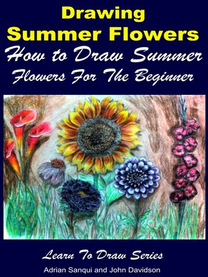 cover image of Drawing Summer Flowers