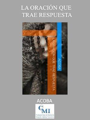 cover image of La Oración que trae respuesta