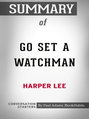 cover image of Conversations on Go Set a Watchman