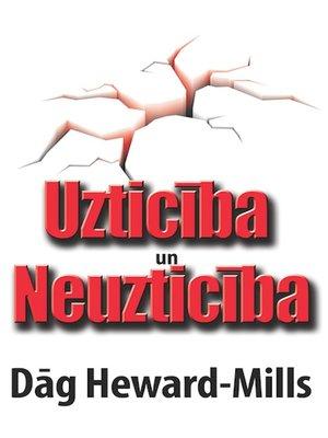cover image of Uzticība un neuzticība