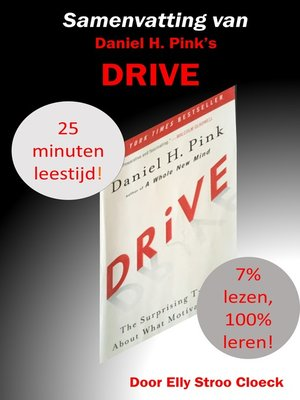 cover image of Samenvatting van Daniel H. Pink's DRIVE