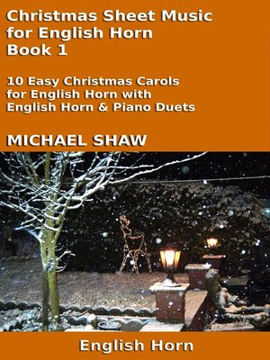 cover image of Christmas Sheet Music for English Horn