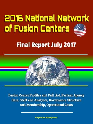 cover image of 2016 National Network of Fusion Centers