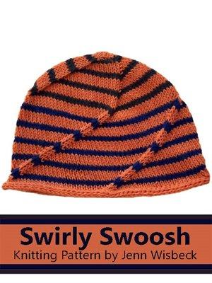 cover image of Swirly Hat Knitting Pattern