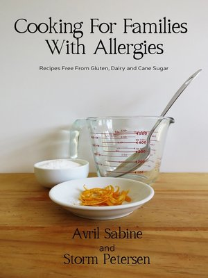 cover image of Cooking For Families With Allergies