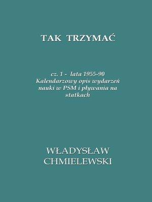 cover image of Tak Trzymać
