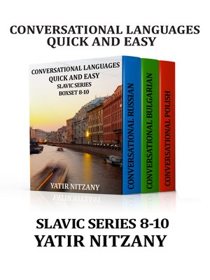 cover image of Conversational Languages Quick and Easy Boxset 8-10