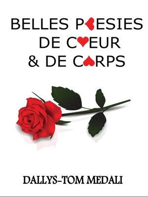 cover image of Belles Poésies de Cœur et de Corps