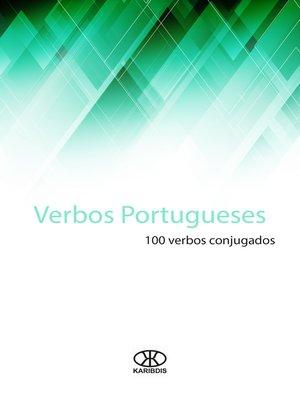 cover image of Verbos portugueses (100 verbos conjugados)