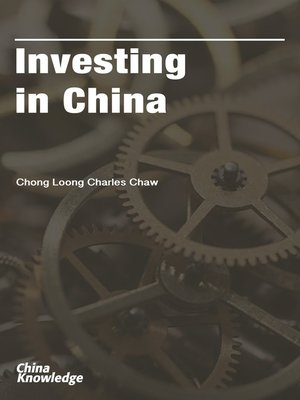 cover image of Investing in China