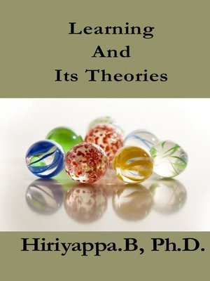 cover image of Learning and Its Theories