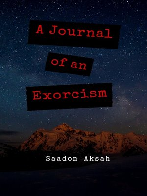 cover image of A Journal of an Exorcism