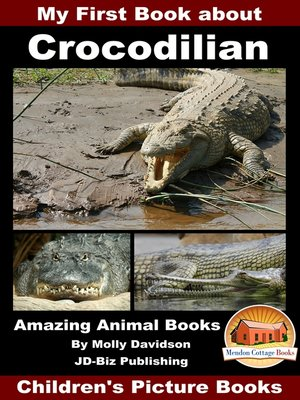 cover image of My First Book about Crocodilian