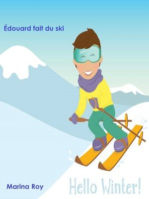 cover image of Édouard fait du ski