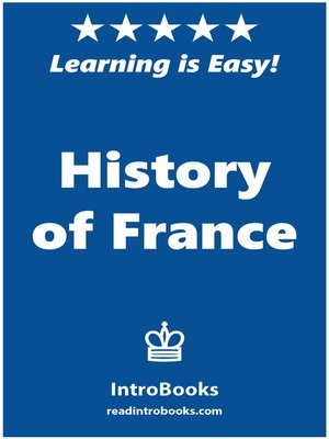 cover image of History of France