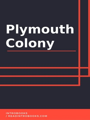 cover image of Plymouth Colony