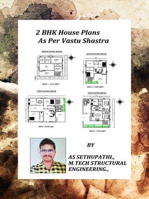 cover image of 2 BHK House Plans As Per Vastu Shatra