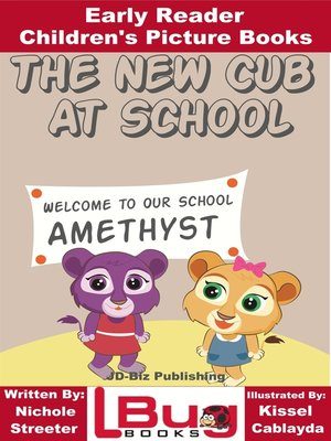 cover image of The New Cub At School